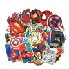 marvel super man stickers