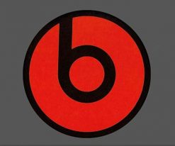 Beats Audio logo-skateboard-Stickers-Luggage-Laptop-Car-Vinyl-Decals