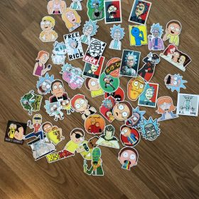 50pcs/pack Rick and Morty Stickers