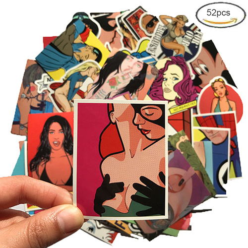 hot girl sexy hook up stickers pack
