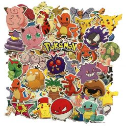 80pc POKEMON GO Pikachu Cartoon Stickers