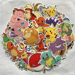 80pc POKEMON GO Pikachu Cartoon Stickers