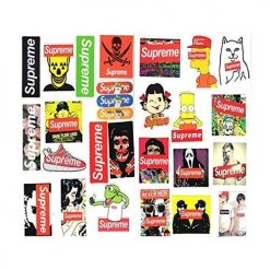 supreme stickers 25 pieces