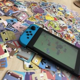 151pcs/pack Pokemon Quest Cubes Stickers