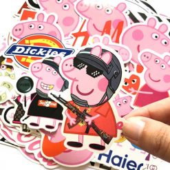 peppa pig skateboard laptop luggage stickers decals