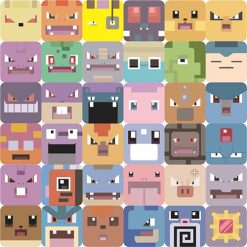 pokemon quest cube stickers (5)