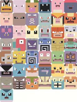 pokemon quest cube stickers (5)