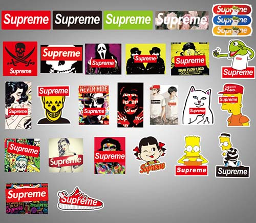 supreme skateboard laptop stickers (6)