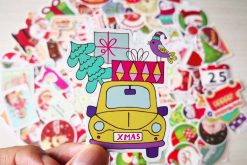 christmas sticker xmas gift 2018
