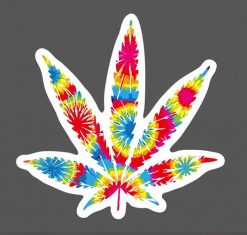 pot weed cannabis leaves stickers