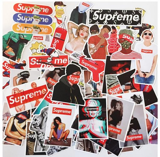 supreme Sup stickers pack decals skateboard stickers