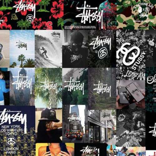 stussy sticker pack