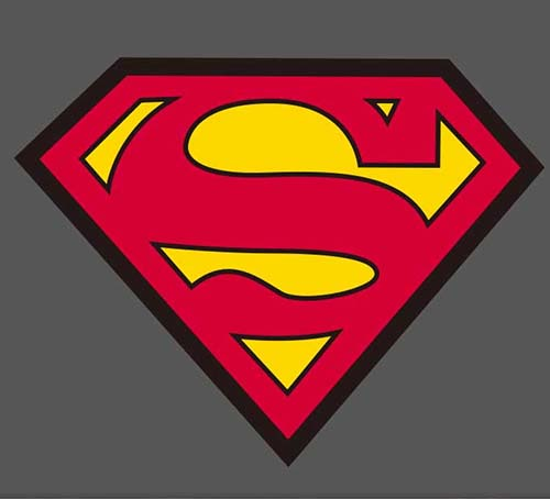 superman shield marvel skateboard luggage stickers