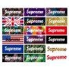 supreme box logo sticker pack
