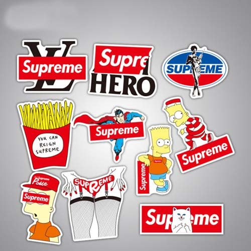 supreme stickers cheap