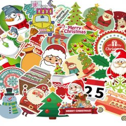 xmas sticker decor gift