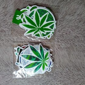 20pcs/pack Green Style Stickers Pack