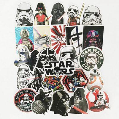 Cartoon Mickey Funny Star Wars
