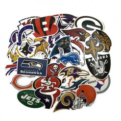 32 American Football NFL Team logo stickers