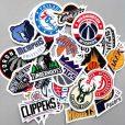 Basketball NBA Team Logo Stickers