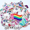 50Pcs Unicorn Vinyl Sticker Decals