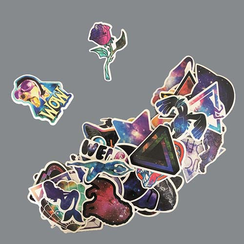 galaxy alien space cat sailor moon diamond cat pepe stickers