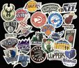 Basketball NBA Team Logo Stickers
