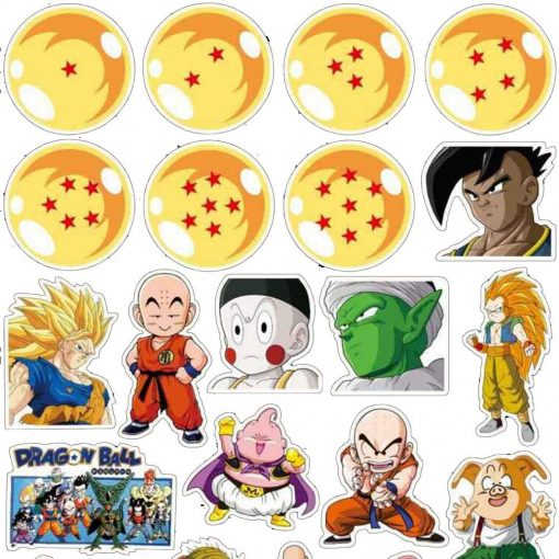 dragon ball sticker decals 100 pieces