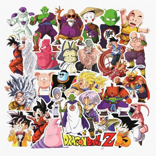 dragon ball stickers 100 pieces
