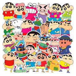 Crayon Shin-chan cartoon Stickers pack vinyl decals 50 pieces
