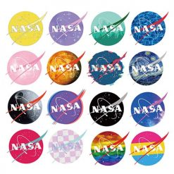 nasa stickers pack 60 pieces