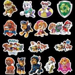 Paw Patrol Stickers 50pieces