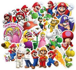 Super Mario Cartoon Stickers