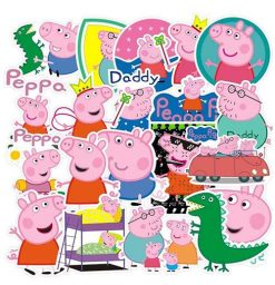 lovely peppa pig stickers