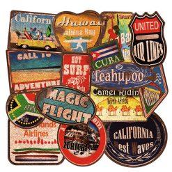 Vintage retro Outdoor Travel Stickers