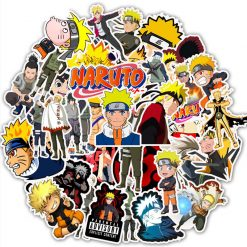 Naruto Stickers Pack vinyl stickers 50 pieces