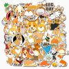 Cute Corgi Stickers pack