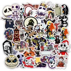 Halloween Jack Skellington Ghost Pumpkin stickers pack