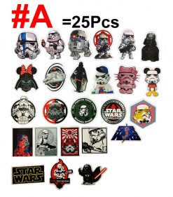 funny star wars stickers pack