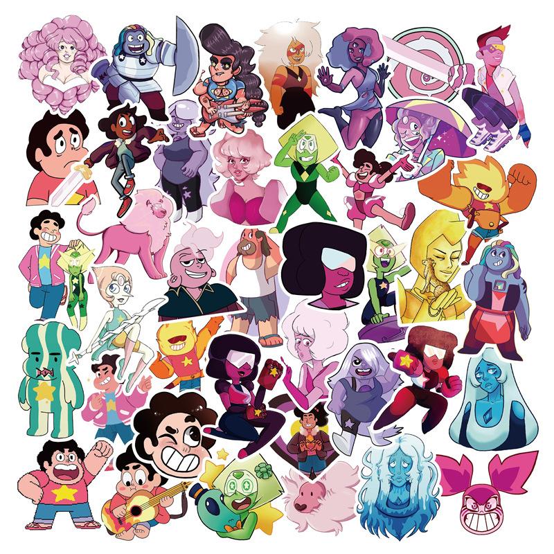 50PCS Steven Universe SU Cartoon Stickers wholesale stickers
