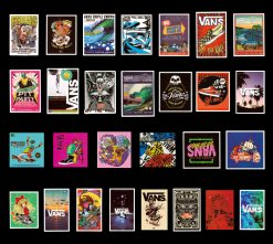 vans off the wall skateboard sticker decals Wholesale cheap price