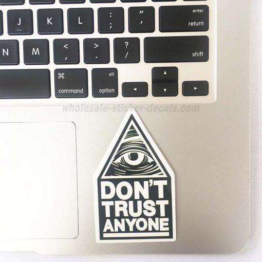 Don't Trus Anyone Eey Sticker bulk pack skateboard laptop luggage car bumper decals