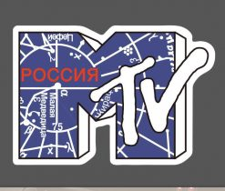 MTV Sticker Decal bulk pack from wholesale sticker supplier
