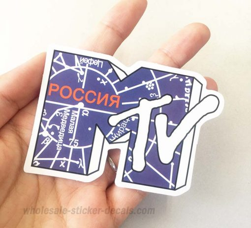 MTV Sticker bulk pack skateboard laptop luggage car bumper decals