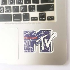 MTV Sticker for car botter box phone decals bulk pack laptop mac phone box stickers