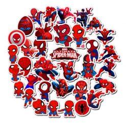Spiderman Sticker for car botter box phone decals bulk pack laptop mac phone box stickers