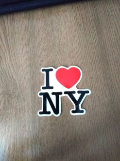 buy I love NY New York vinyl sticker pack