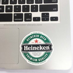 buy Heineken Beer Sticker for car botter box phone decals bulk pack laptop mac phone box stickers