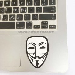 buy Anonymous Fawkes Mask Sticker skateboard laptop luggage sticker