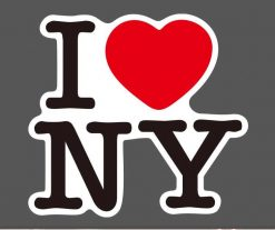 I love NY New York vinyl sticker pack